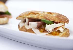 Italiensk Skinke Sandwich