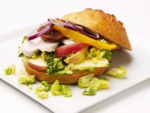 Kalkunsandwich m/chutney