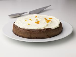 Choko Cheese cake med abrikosgrød