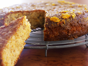 Mandel appelsin  kage